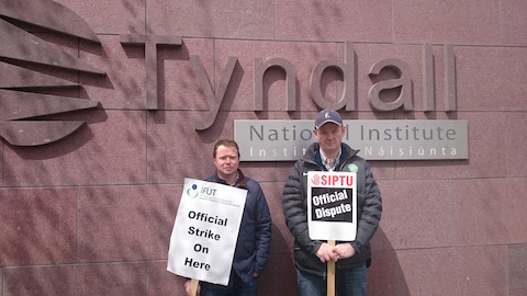 IFUT and SIPTU Strike over Tyndall Dispute
