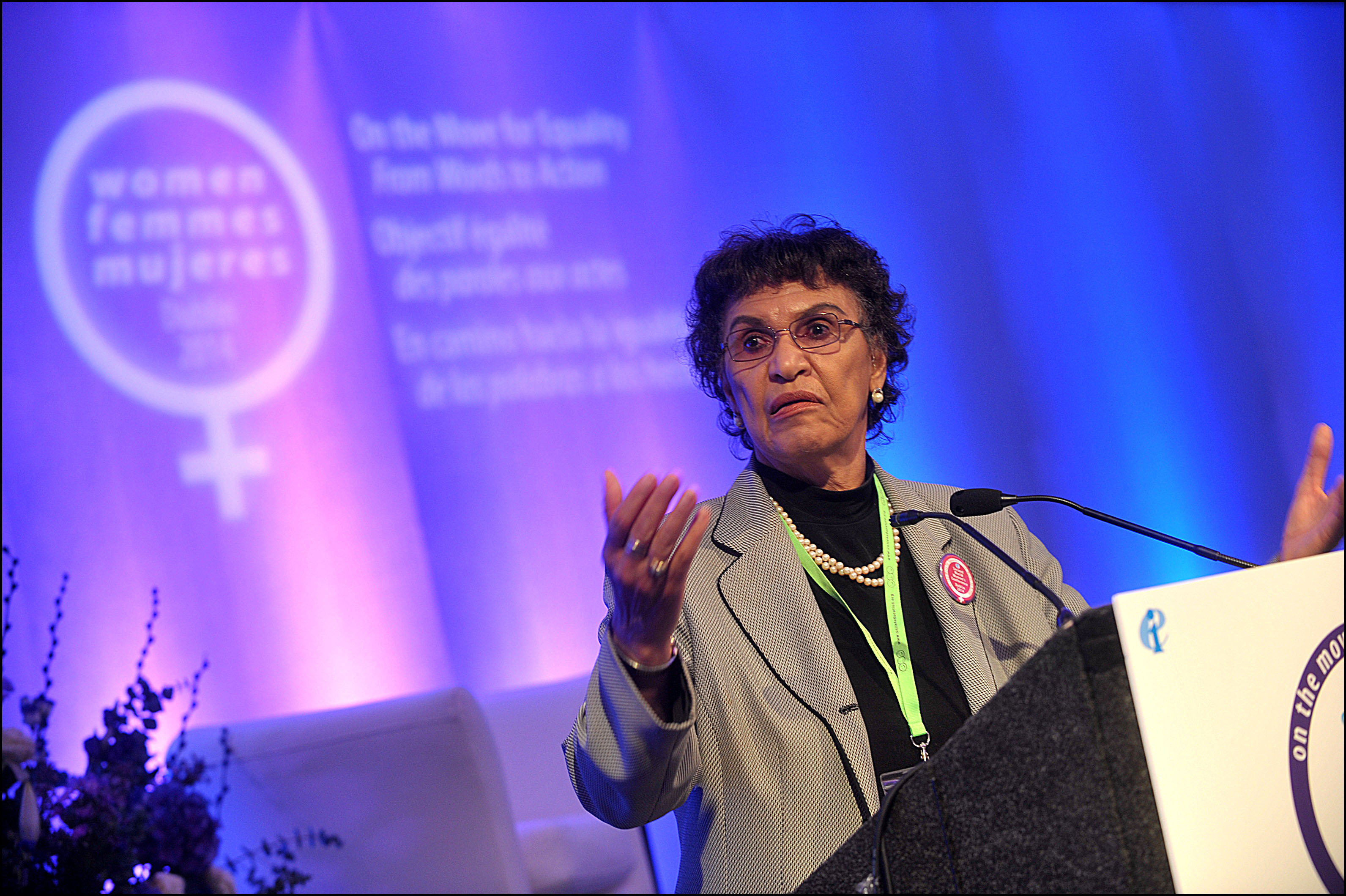 EI - 2014 Second World Women's Conference, Dublin - 9 | Irish