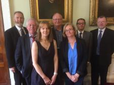 Aidan Kenny, Mike Jennings, Joan Donegan, John Walshe, Marie Clarke, Andrew Loxley and John MacGabhann