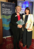 Dr Angela Flynn (Incoming President) with the Chief Commissioner of IHREC  at the launch of IHREC's Strategy Statement for 2019-2021
